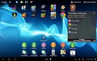 Screenshot of Task Changer for Small App