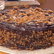 Sour Cream Toffee Fudge Cake