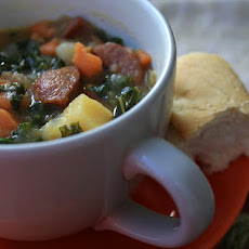 Sausage, Kale, and Potato Soup
