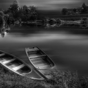 silence by Mirela Korolija - Black & White Landscapes
