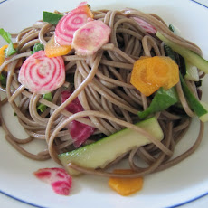 Soba Salad with Cukes and Roots