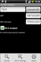 Screenshot of Vz Wi-Fi Connect