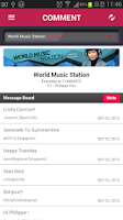 Screenshot of Arirang Radio