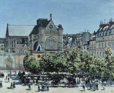 Monet Claude, San Germain a Parigi