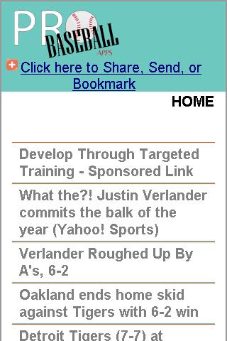 Oakland Pro Baseball News