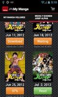 Screenshot of VIZ Manga