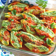 Vegan Stuffed Shells With Cashew Ricotta Cheese And Spinach