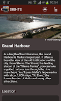 Screenshot of Malta Travel Guide - Tourias