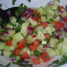 Thai Cucumber Tomato  Salad