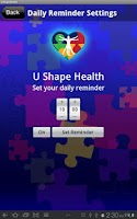 Screenshot of UShapeHealth