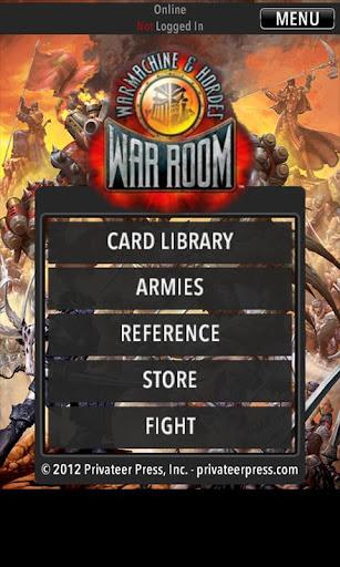 War Room Handheld