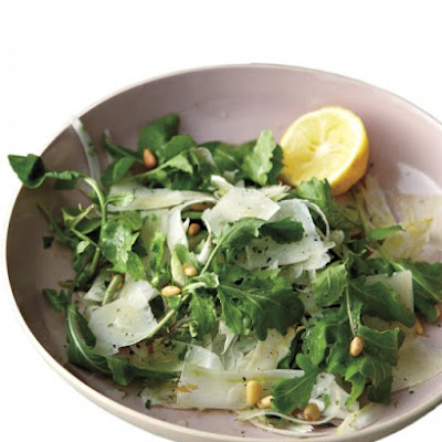 Fennel, Arugula, and Pine-Nut Salad