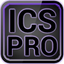 ICS Pro PURPLE GO Theme+