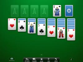 Screenshot of Solitaire+