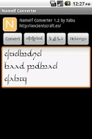 Screenshot of Namelf Converter
