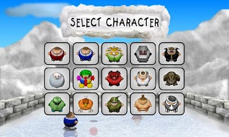 Screenshot of Fat Ball Lite (1 or 2 Player)