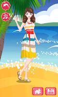 Screenshot of Dress Up - Summer Fashion
