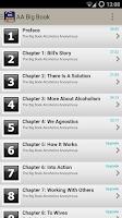 Screenshot of Big Book Alcoholics Anonymous