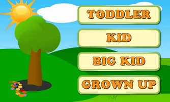 Screenshot of Word Bubbles for Kids Free