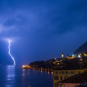 Limone thunderstruck by Luka Milevoj - Landscapes Weather