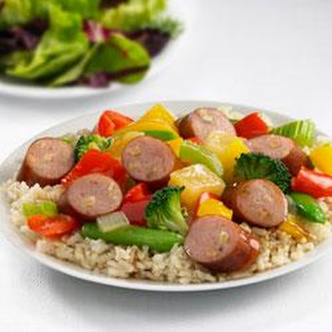 Johnsonville® Apple Chicken Sausage Sweet and Sour Stir Fry