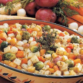 Roasted Root Vegetables Recipe