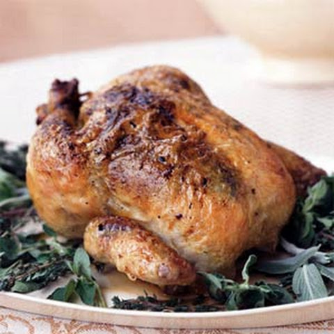 Classic Roast Chicken with Stuffing Recept | Yummly