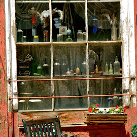 Quaint Shop, Historic Mining Town by Kathleen Koehlmoos - City,  Street & Park  Historic Districts ( quaint shops, old shops, historic town, quaint shop, historic district, colorado rockies )