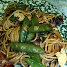 Ginger Vegetable Lo Mein