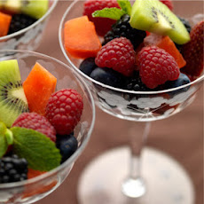 Fruit Salad with Herb, Citrus, Mint-Maple, or Basic Syrup