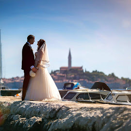 A&G by Saša Halambek - Wedding Bride & Groom ( love, istra, wedding, sasa halambek, rovinj )
