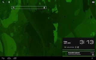 Screenshot of CM9/AOKP Theme SpearmintGum