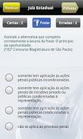 Screenshot of Juiz Estadual