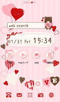 Screenshot of Cute wallpaper★Fortune Heart