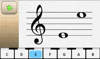Screenshot of Music Tutor Sight Read Lite