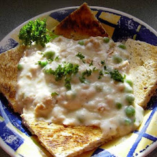Creamed Tuna on Toast