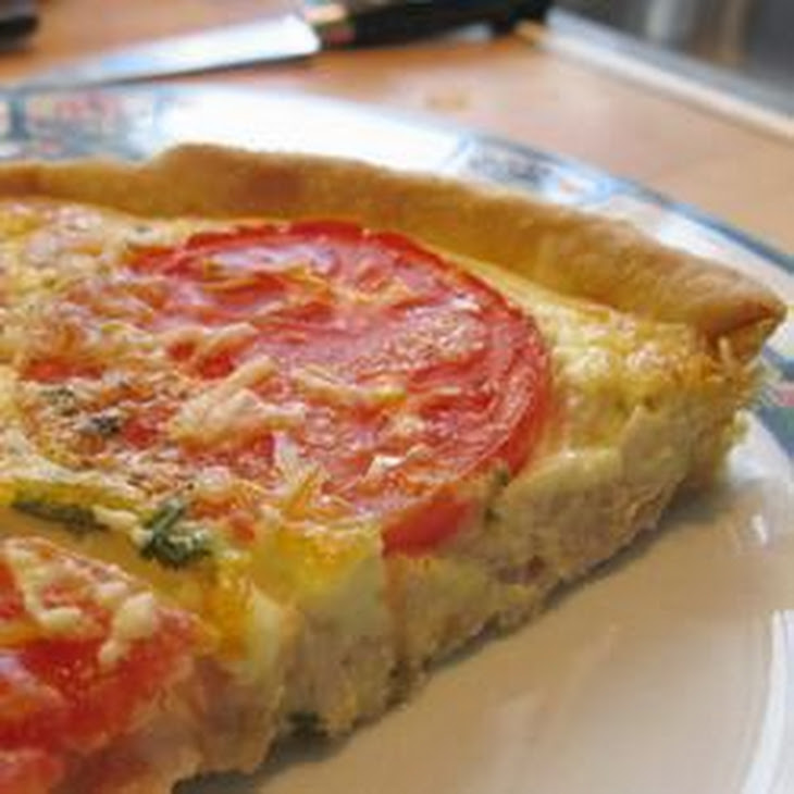 Tuna and Tomato Quiche