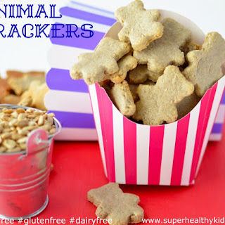 Animal Crackers {Nut Free, Dairy Free, Gluten Free}