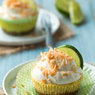 Coconut Key Lime Pie Cupcakes