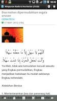 Screenshot of Hadis Nabi & Doa Harian