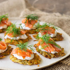 Smoked Trout & Potato Rosti Canapés
