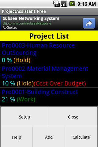 Project Assistant Free