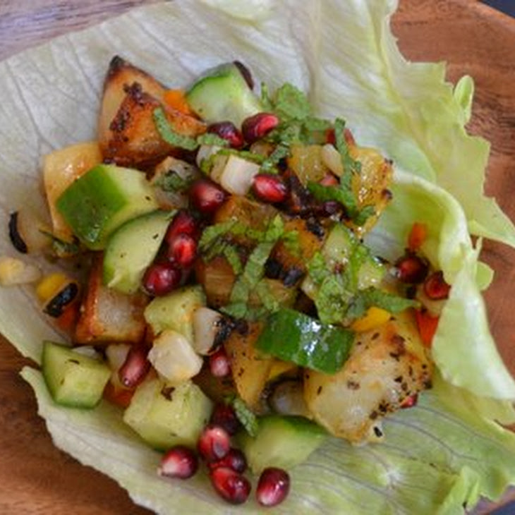 Grilled Summer Salad With A Citrus & Pomegranate Molasses Dressing ...