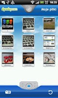 Screenshot of dymki.com - FotoLoader