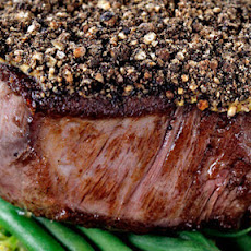 Peppered Fillet Steak With Whisky Sauce