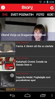 Screenshot of Story.rs – Upoznajte poznate!