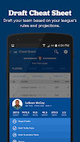 Screenshot of Fantasy Draft Kit by CBSSports