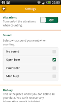 Screenshot of Beer Counter - Drinking Tool