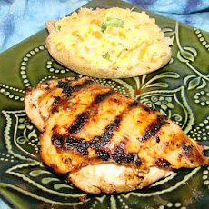 Maple-Glazed Barbecue Chicken