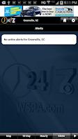 Screenshot of WSPA WX